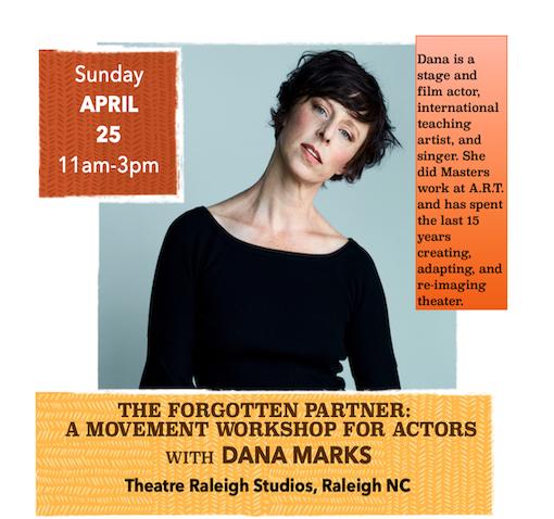 Event Photo THE FORGOTTEN PARTNER:  A Movement Workshop for Actors